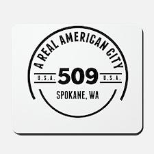 A Real American City Spokane WA Mousepad