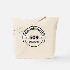 A Real American City Spokane WA Tote Bag