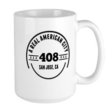 A Real American City San Jose CA Mugs