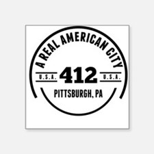 A Real American City Pittsburgh PA Sticker
