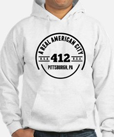 A Real American City Pittsburgh PA Hoodie
