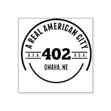 A Real American City Omaha NE Sticker