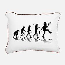 Morris Dancing Rectangular Canvas Pillow