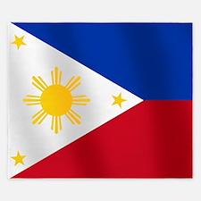 Philippines Flag King Duvet