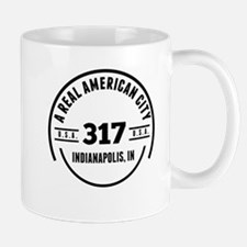 A Real American City Indianapolis IN Mugs
