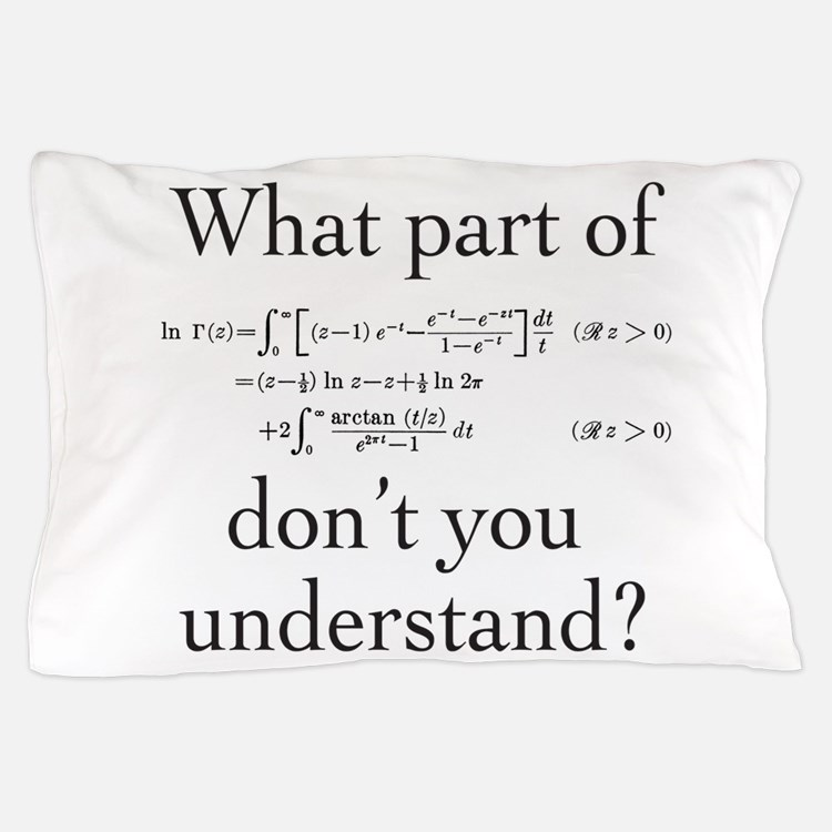 What Part of... Pillow Case