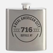 A Real American City Buffalo NY Flask
