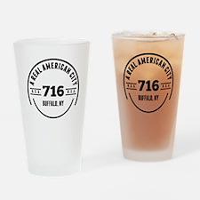 A Real American City Buffalo NY Drinking Glass