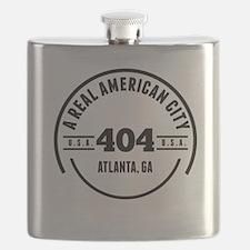 A Real American City Atlanta GA Flask