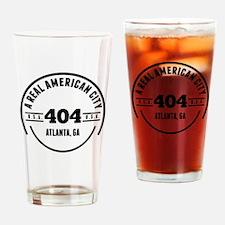 A Real American City Atlanta GA Drinking Glass