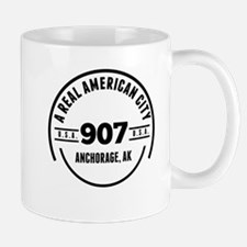 A Real American City Anchorage AK Mugs