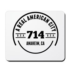 A Real American City Anaheim CA Mousepad