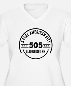 A Real American City Albuquerque NM Plus Size T-Sh