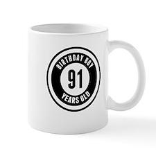 Birthday Boy 91 Years Old Mugs