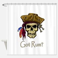 Got Rum? Shower Curtain