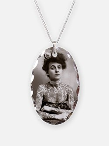 Tattooed Lady, 1907 Necklace
