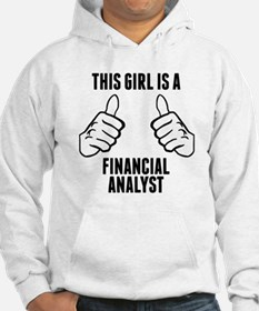 This Girl Is A Financial Analyst Hoodie