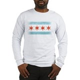 Chicago flag Long Sleeve T-shirts