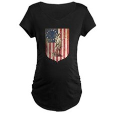Concord Minuteman, Shield Maternity T-Shirt