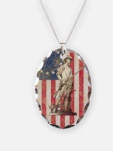 Concord Minuteman, Shield Necklace