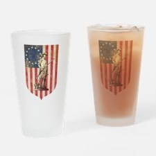 Concord Minuteman, Shield Drinking Glass