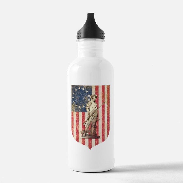 Concord Minuteman, Shield Water Bottle