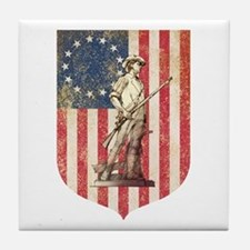 Concord Minuteman, Shield Tile Coaster