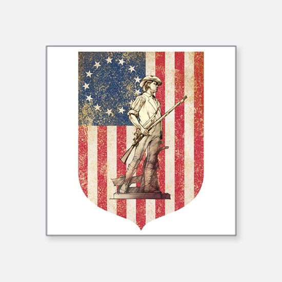 Concord Minuteman, Shield Sticker