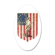 Concord Minuteman, Shield Wall Decal