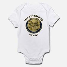 USS Enterprise CVN-80 Infant Bodysuit