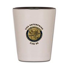 USS Enterprise CVN-80 Shot Glass
