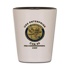 PCU Enterprise Shot Glass