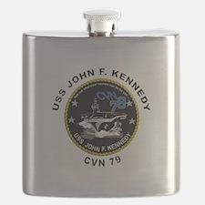 USS John Kennedy CVN-79 Flask