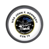 Cvn 79 Wall Clocks