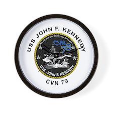 USS John Kennedy CVN-79 Wall Clock