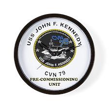 PCU Kennedy Wall Clock