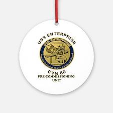 Pcu Enterprise Ornament (round)