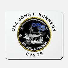 USS John Kennedy CVN-79 Mousepad
