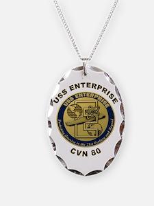 USS Enterprise CVN-80 Necklace