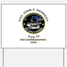 PCU Kennedy Yard Sign