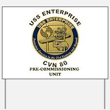 PCU Enterprise Yard Sign