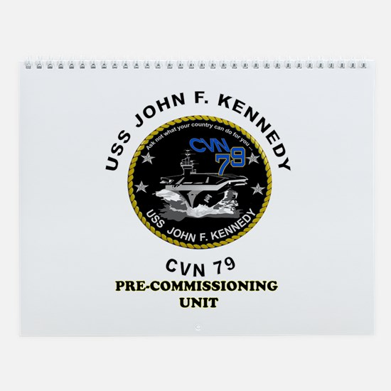 Pcu Kennedy Wall Calendar