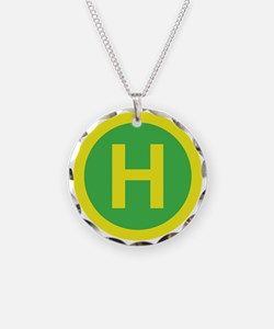 Helipad Sign Necklace