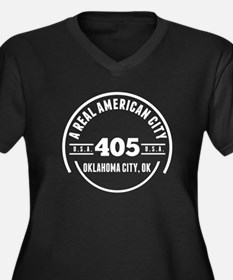 A Real American City Oklahoma City OK Plus Size T-