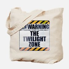 Warning: The Twilight Zone Tote Bag