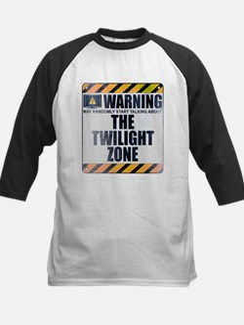 Warning: The Twilight Zone Kids Baseball Jersey