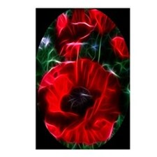 I love poppies Postcards (Package of 8)