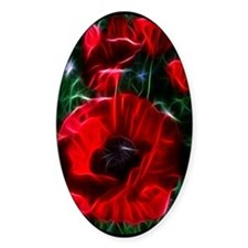 I love poppies Decal