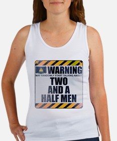 Warning: Two and a Half Men Women's Tank Top