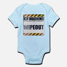 Warning: Wipeout Infant Bodysuit